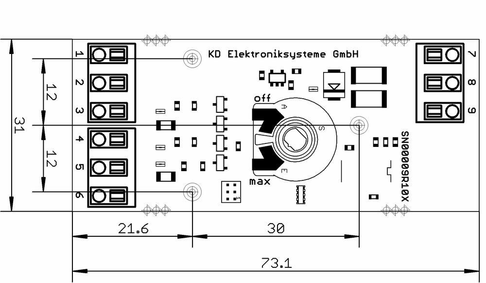 Ausführung ohne Gehäuse (SN00012E)