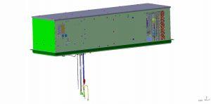 Outdoor Dachklimagerät für Serverklimatisierung - 1,2 kW Kälteleistung